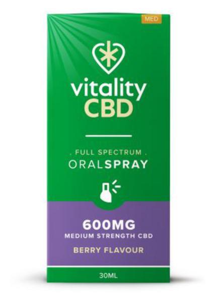 600mg CBD Oral Spray