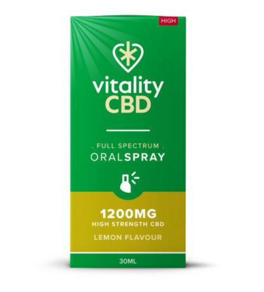 1200mg Lemon CBD Oral Spray