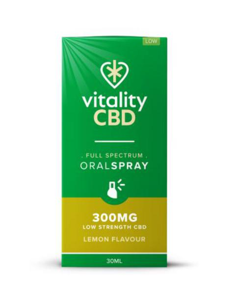 300mg Lemon CBD Oral Spray Vegan