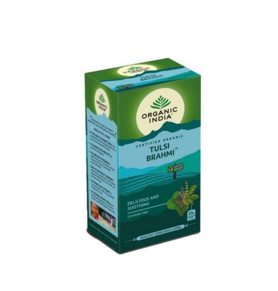 India Brahmi Tulsi Tea ORGANIC