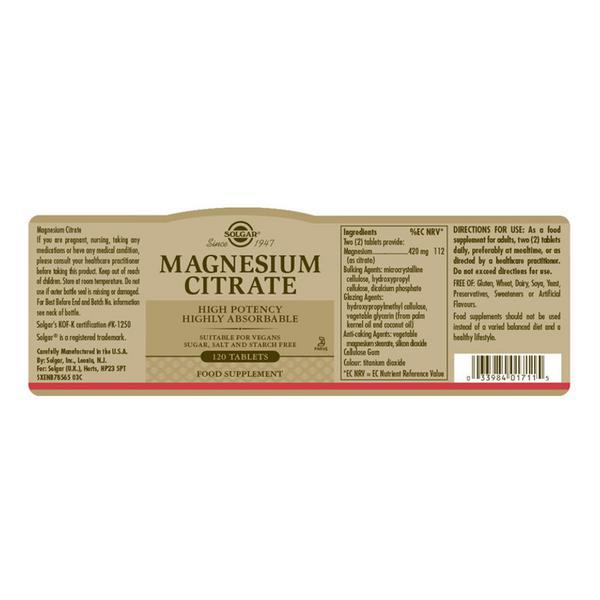 Magnesium Citrate  image 2
