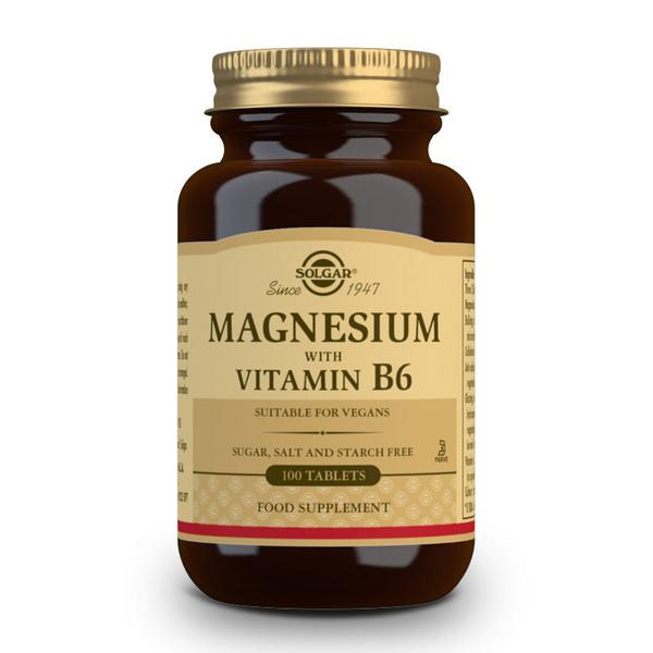 Magnesium Mineral With Vitamin B6