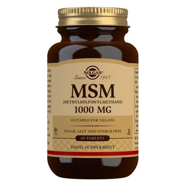 MSM Food Supplements Vegan