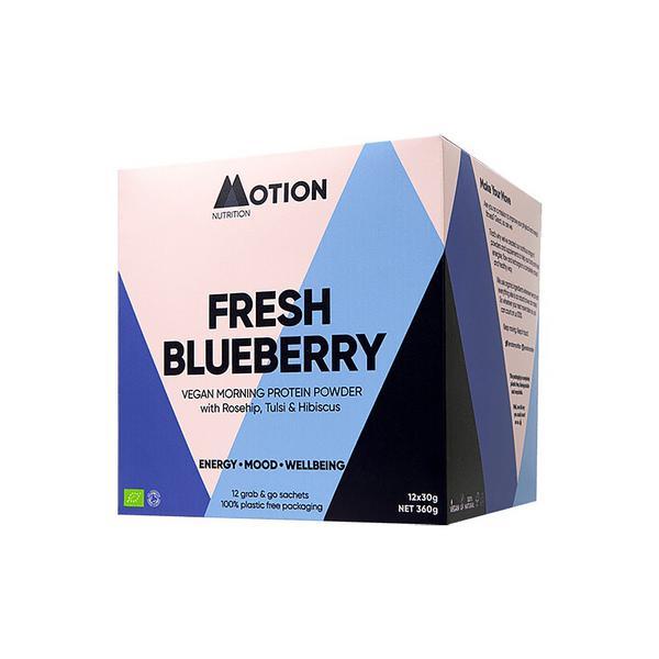 Blueberry Morning Protein Shake dairy free, Vegan, ORGANIC