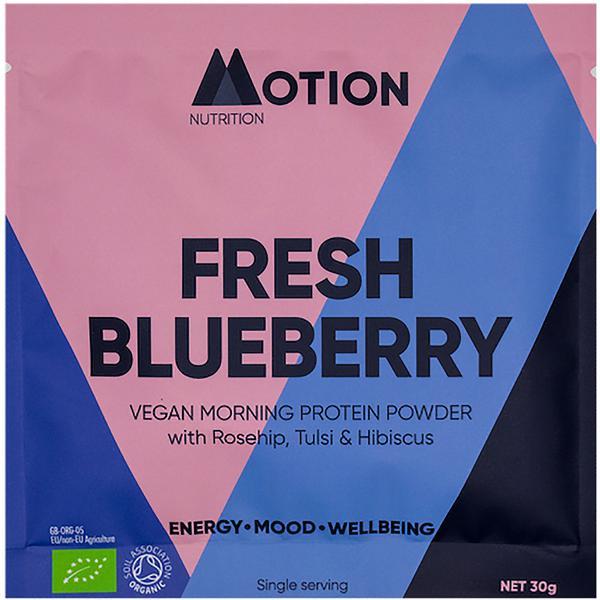 Blueberry Powder Protein dairy free, Vegan, ORGANIC