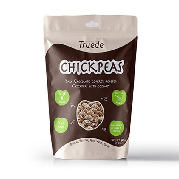 Dark Chocolate & Coconut Roasted Chickpeas