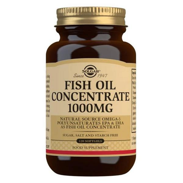Fish Oil Concentrate Gluten Free, salt free, sugar free, yeast free