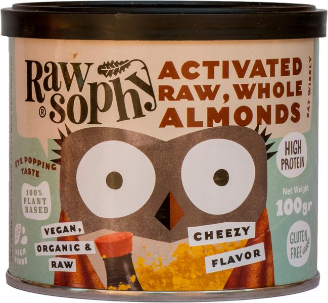 Cheezy Crunch Activated Almonds dairy free, Gluten Free, Vegan, ORGANIC image 2
