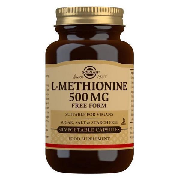 L-Methionine Amino Acid 500mg Vegan