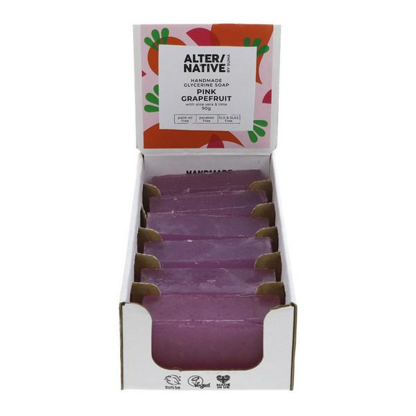 Pink Grapefruit Soap dairy free, Vegan