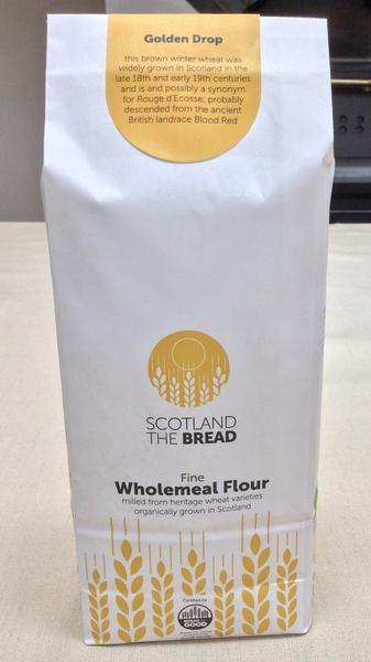 Golden Drop Wholemeal Flour ORGANIC