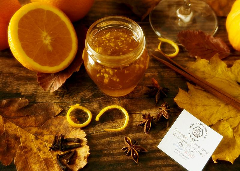 Scottish Orange Clove & Cinnamon Honey