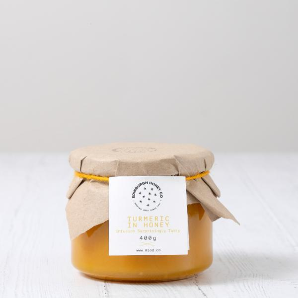 Scottish Turmeric,Cinnamon & Ginger Honey