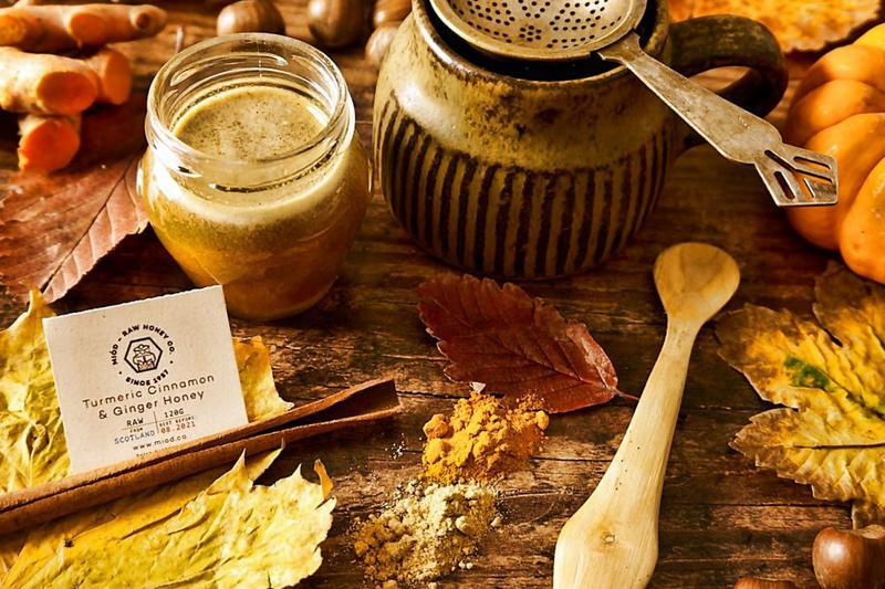 Scottish Turmeric,Cinnamon & Ginger Honey