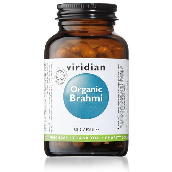Brahmi Supplement Vegan, ORGANIC