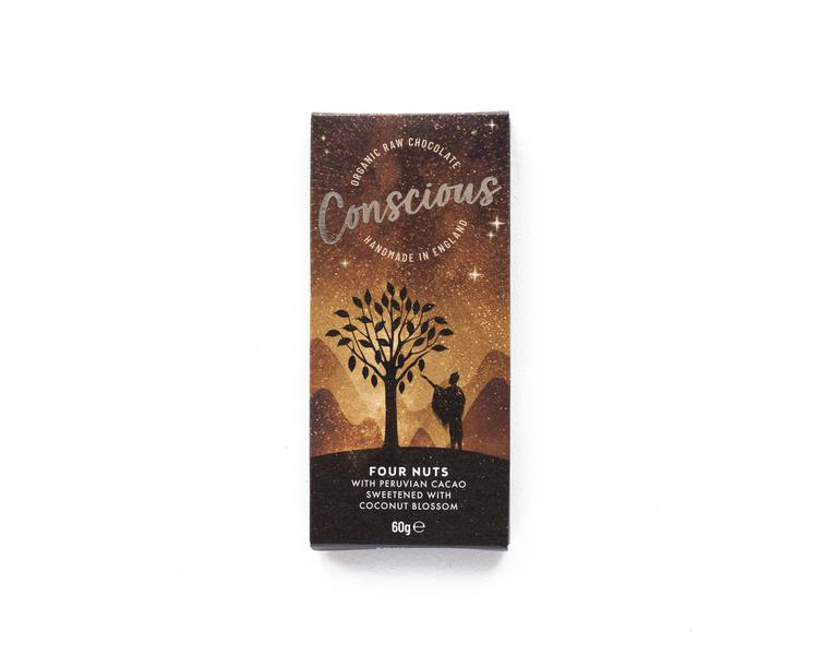 Four Nuts Raw Chocolate ORGANIC