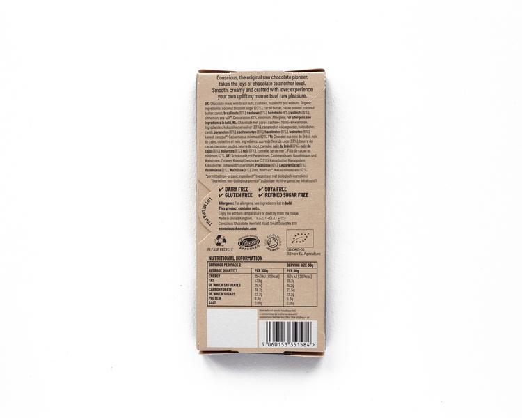 Four Nuts Raw Chocolate ORGANIC image 2