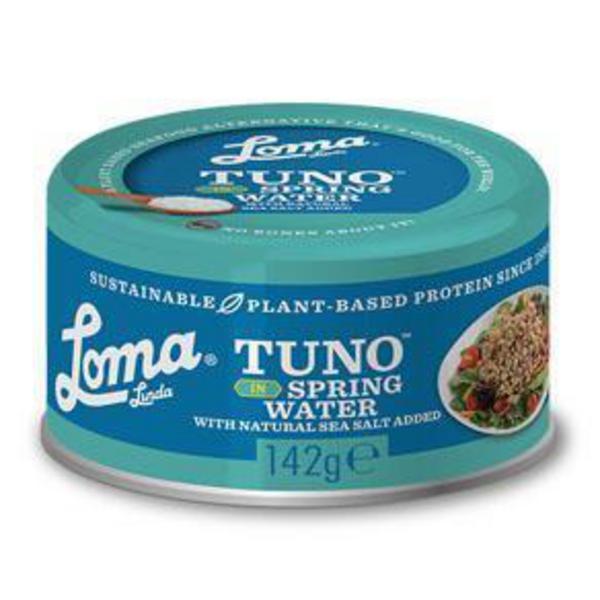 Protein Tuno in Spring Water Gluten Free, Vegan