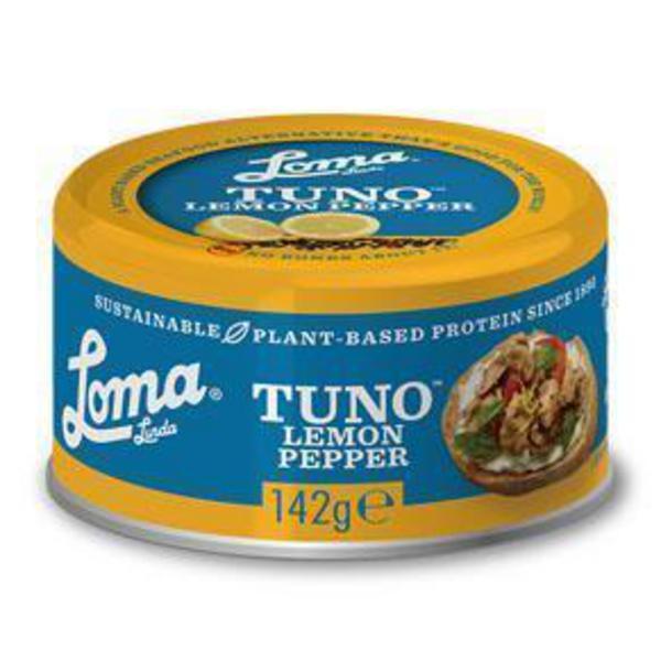 Lemon & Pepper Protein Tuno Gluten Free, Vegan