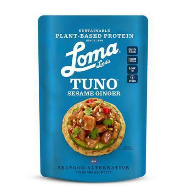 Sesame & Ginger Protein Tuno Vegan