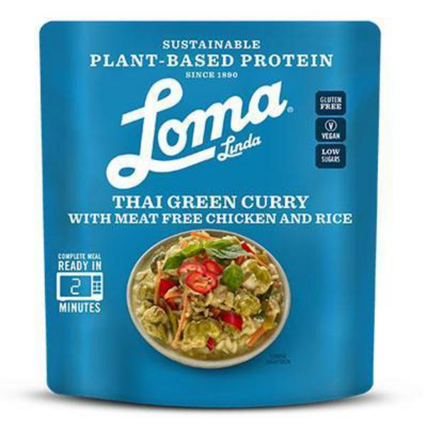 Thai Green Curry Ready Meal dairy free, Gluten Free, Vegan