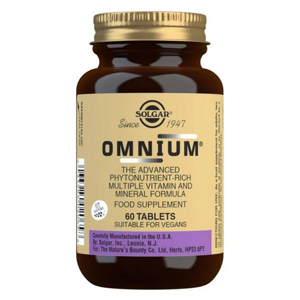 Omnium Phytonutrients Multi Vitamins Gluten Free, Vegan