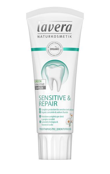 Sensitive & Repair Toothpaste sugar free, Vegan, ORGANIC