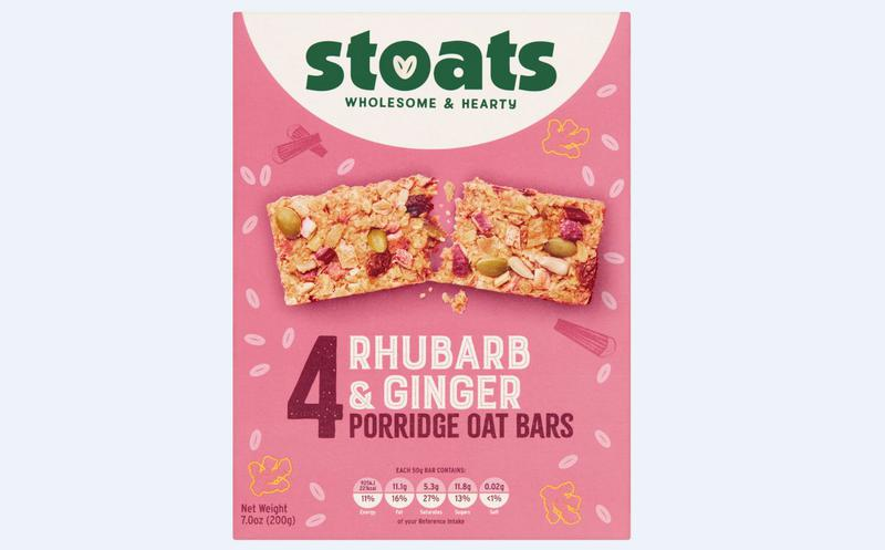 Rhubarb & Ginger Snackbar