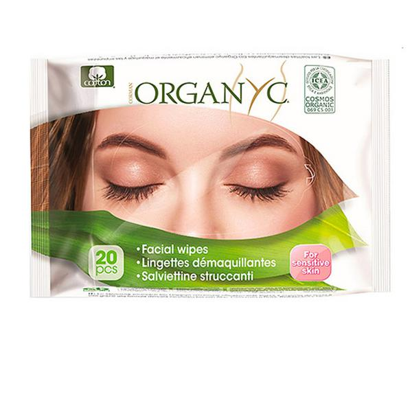 Facial Cleanser Wipes ORGANIC