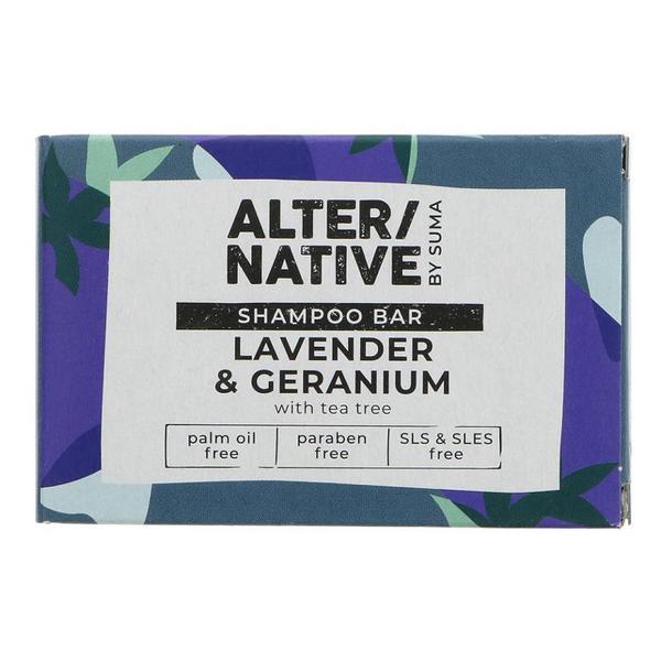Lavender & Geranium Shampoo Bar Vegan