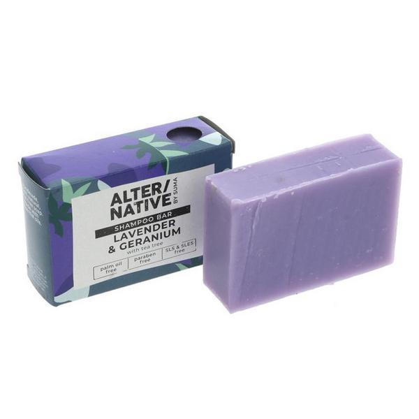 Lavender & Geranium Shampoo Bar Vegan image 2