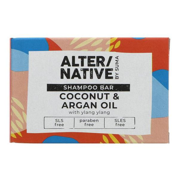 Coconut & Argan Oil Shampoo Bar Vegan