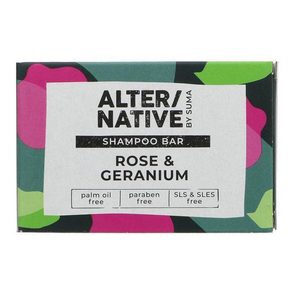 Rose & Geranium Shampoo Bar Vegan