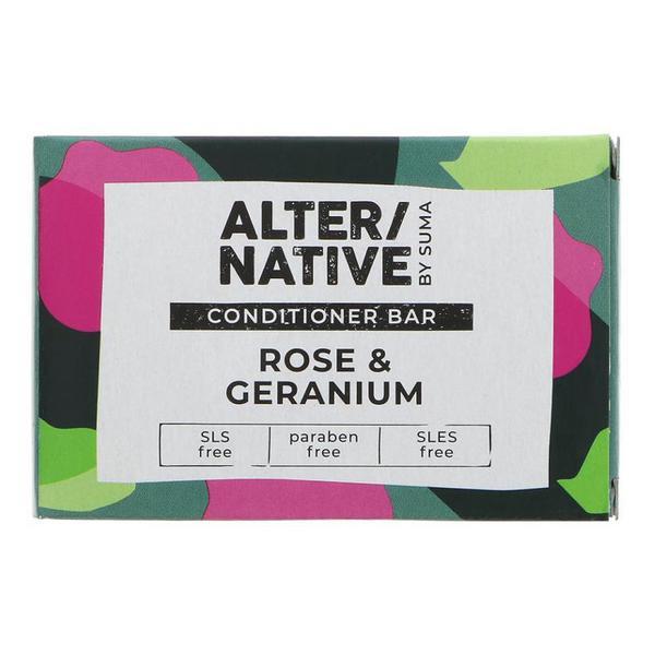 Rose & Geranium Conditioner Bar dairy free, Vegan