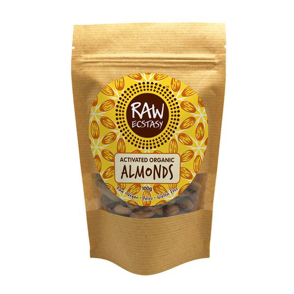 Activated Plain Almonds Gluten Free, Vegan