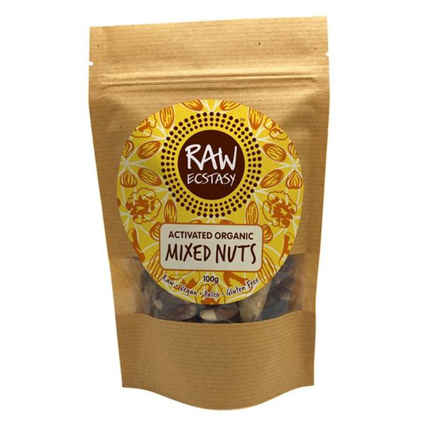 Activated Plain Mixed Nuts Vegan, ORGANIC