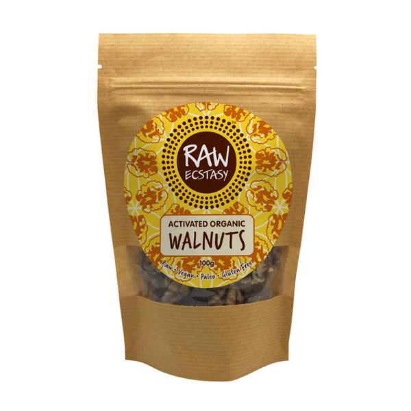 Activated Plain Walnuts Gluten Free, Vegan