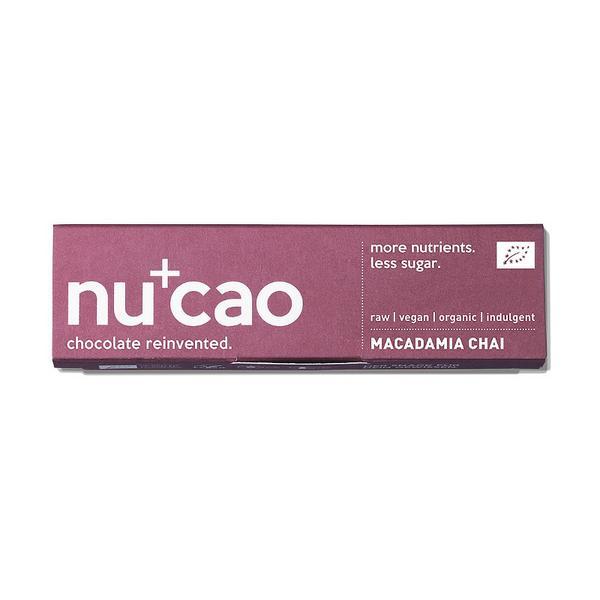 Raw Macadamia Chai Snackbar dairy free, Vegan, ORGANIC