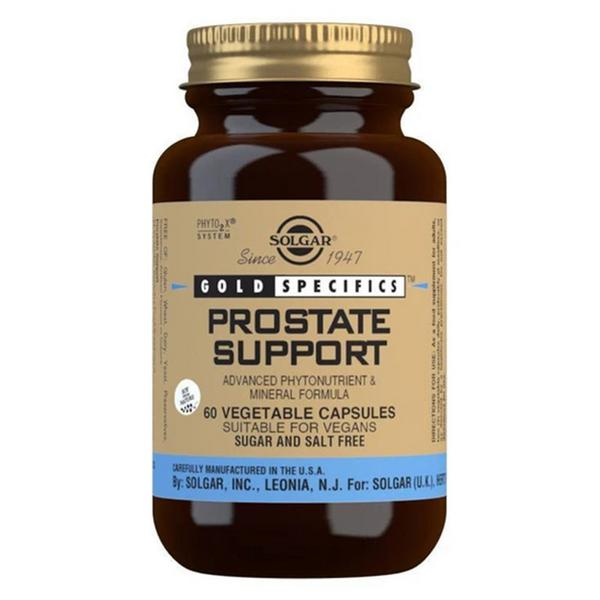 Prostate Support Supplement Gold Specifics Gluten Free, Vegan