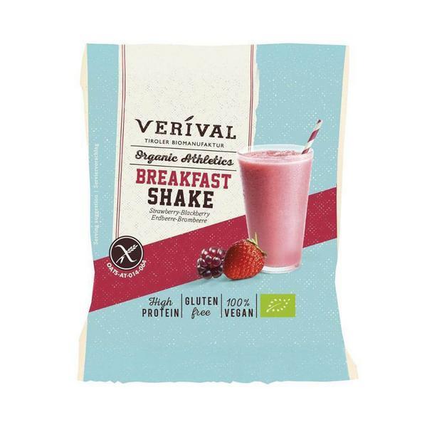 Organic Strawberry & Blackberry Breakfast Shake Gluten Free, Vegan