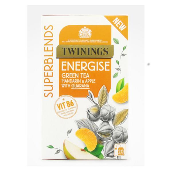 Mandarin & Apple Superblend Energy Tea