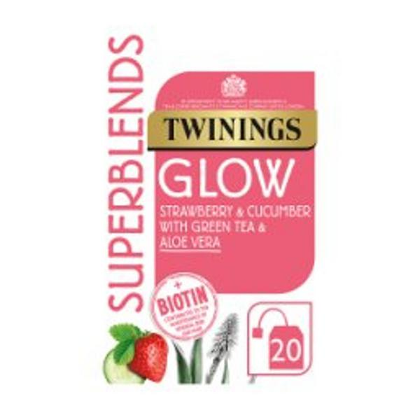 Strawberry & Cucumber Superblend Glow Tea