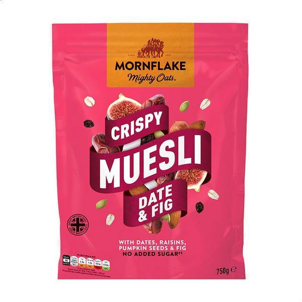 Crispy Date & Fig Muesli