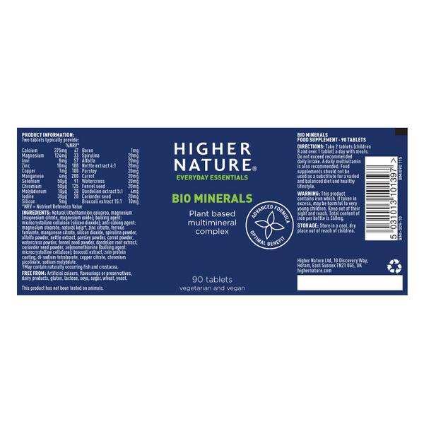 Bio Mineral Supplement Vegan image 2