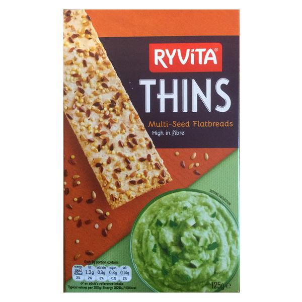 Multi-Seed Flatbread Thins Vegan