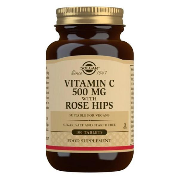 Vitamin C Rosehip 500mg Vegan