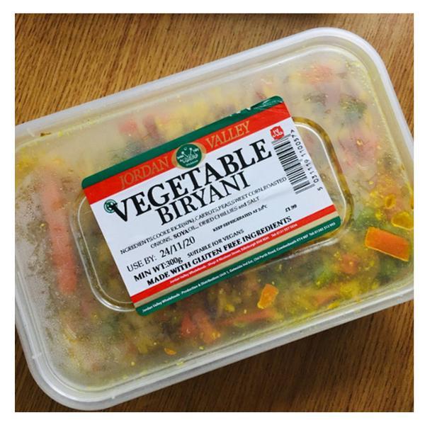 Vegetable Biryani Ready Meal Gluten Free
