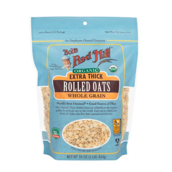 Extra Thick Rolled Oatmeal ORGANIC