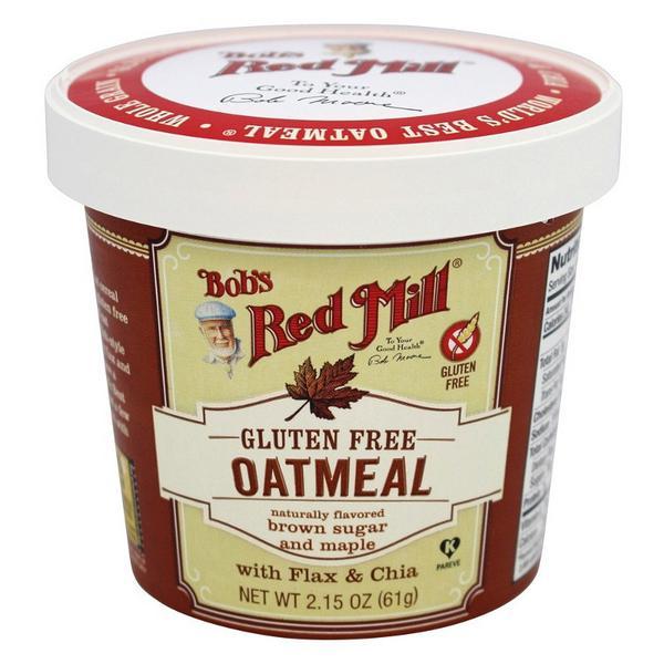 Gluten Free Brown Sugar & Maple Oatmeal Cup