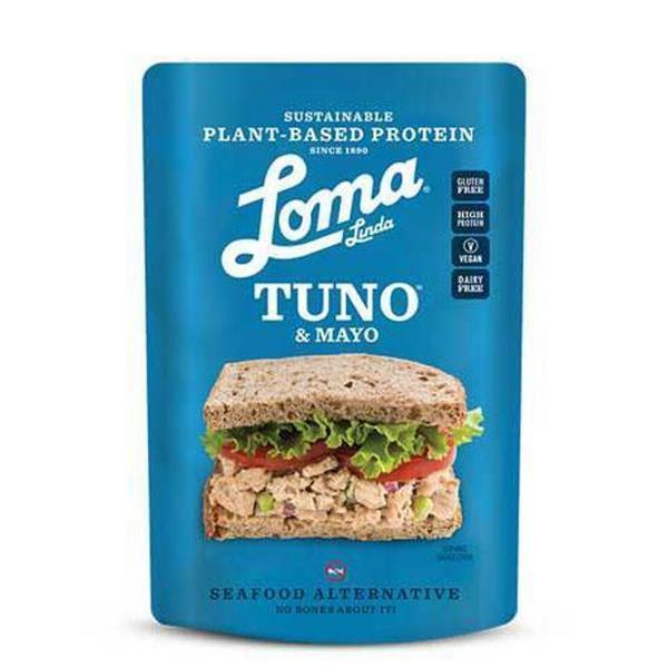 Vegan Mayonnaise Tuno Pouches dairy free, egg free, Gluten Free